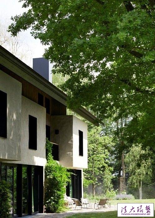 绿树环绕  男主人亲手打造的梦想之家