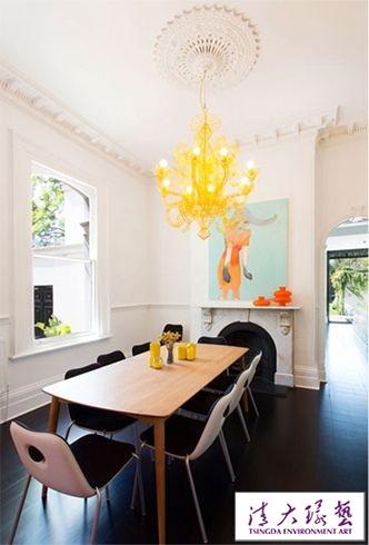 色彩魔力 清大环艺软装设计培训机构教您打造色彩完美的三居室