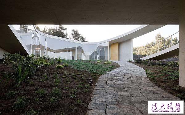伊东丰雄作品:白色O型住宅设计