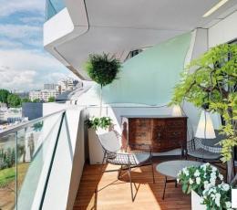 现代时尚多一点 米兰豪华公寓设计