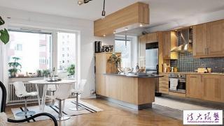 瑞典50平米北欧风格公寓设计