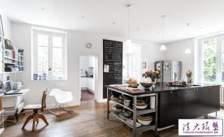 法国:舒适惬意的乡村两居室设计