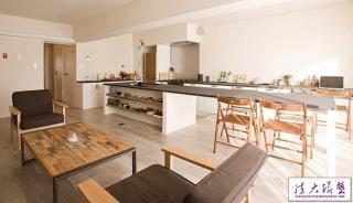 日式质朴原木打造简约舒适风格公寓