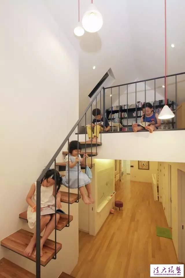 首尔郊外的几何外观住宅  个性时尚不乏温馨感