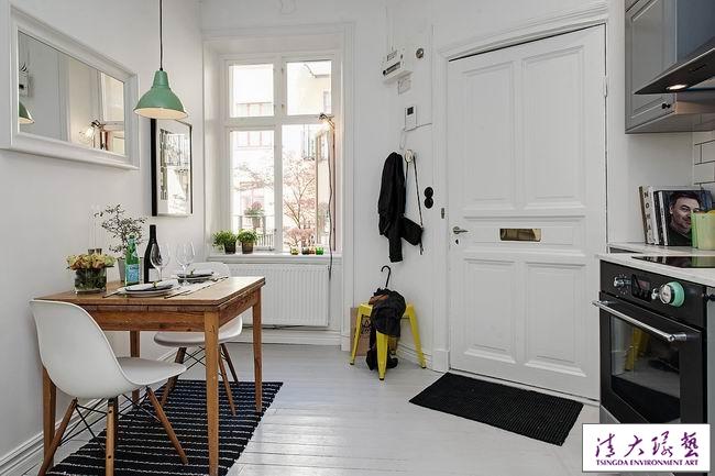 罗凡涅米留学生公寓 34平米小空间如此精致