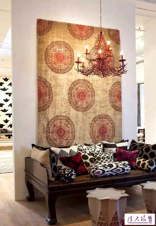 新年软装新搭配,挂毯也可以这样惊艳