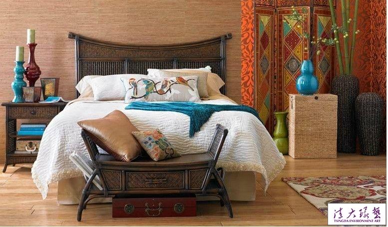 东南亚风格家居装饰后期配饰要点
