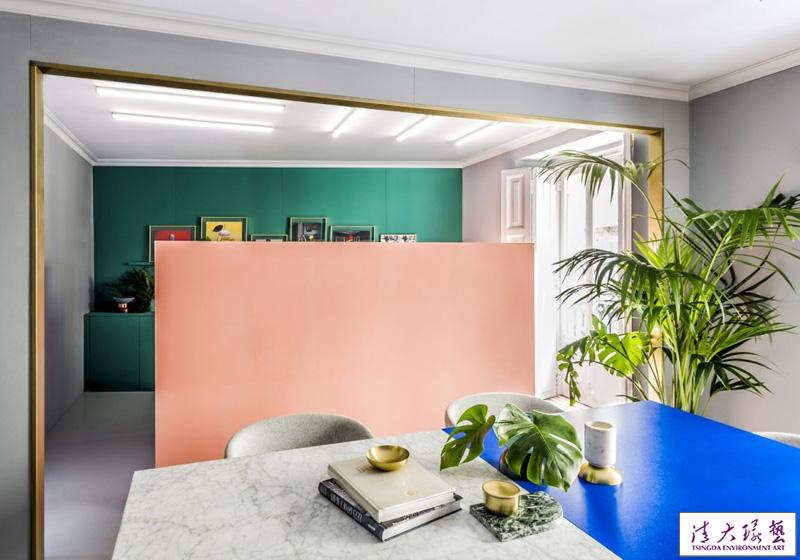 色彩明亮创意家居饰品个性时尚工作室