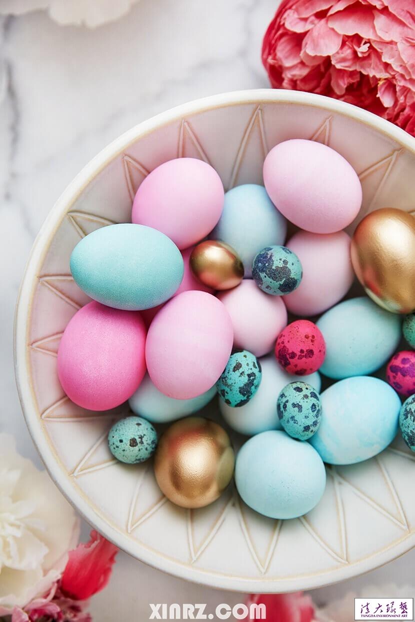 【软装色彩搭配】粉彩的复活节早晚餐