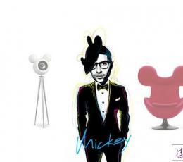 经典跨界 米奇Mickey蛋椅