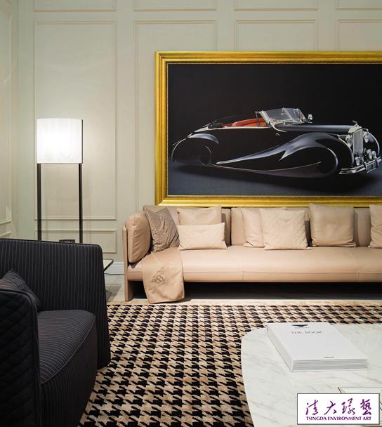 来自豪车的设计灵感:宾利精品家具