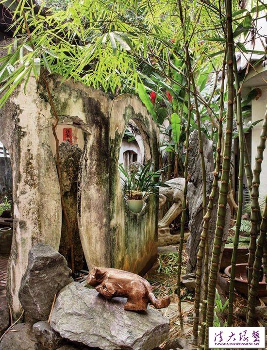 闹市静庐移景于家 艺术家于彭的桂荫庐