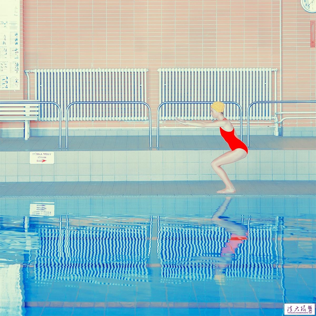 【软装配色】游泳池里惊艳了得时光