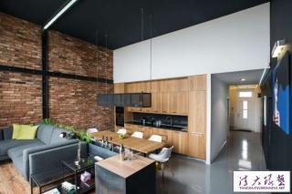 画家工作室改造成现代loft公寓