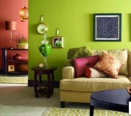 家居装饰风水色彩搭配