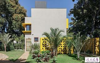 圣保罗郊外别墅 色彩缤纷很生动迷人