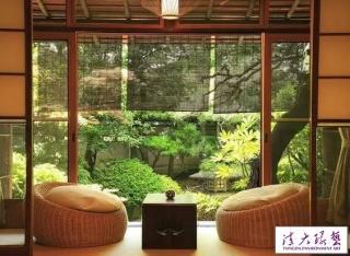 东京郊外别墅 宁静自然的日式范儿住宅
