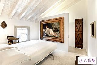 米兰阁楼公寓 清雅素净艺术范儿十足