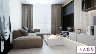 简约的奢华:现代时尚公寓设计