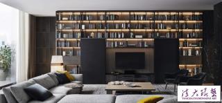精致大气的黑色系豪宅装饰设计