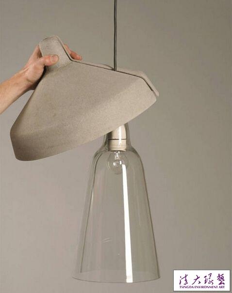 15款混凝土灯具 助你打造完美工业风