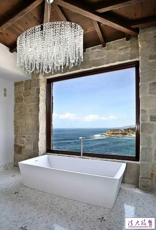 你家浴室该换灯啦  10款奢华浴室吊灯
