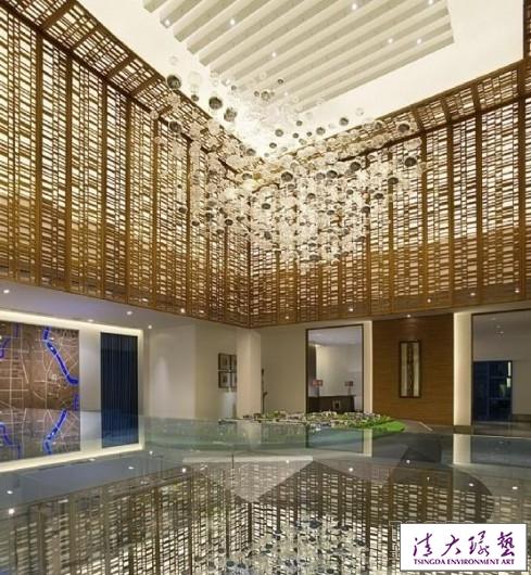 秦岳明作品:广西古象温泉度假酒店