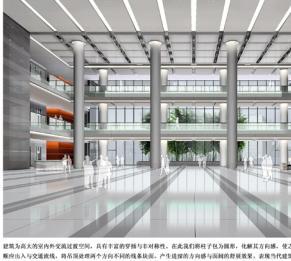 赵虹作品:首都机场大通关办公综合楼效果图
