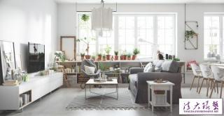 5个漂亮的斯堪的纳维亚风格家居设计
