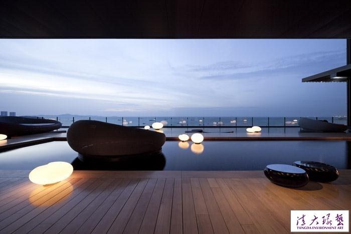 amata作品-泰国芭提雅希尔顿酒店