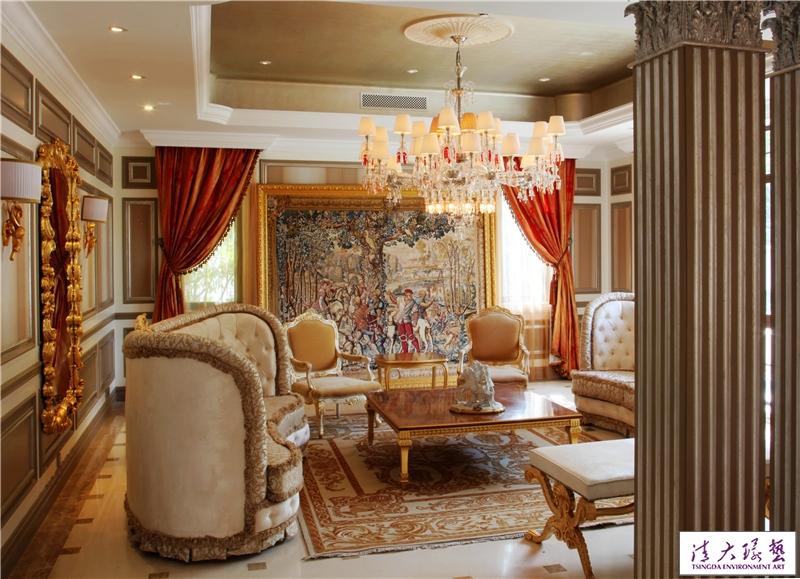施路远作品:财富城堡别墅