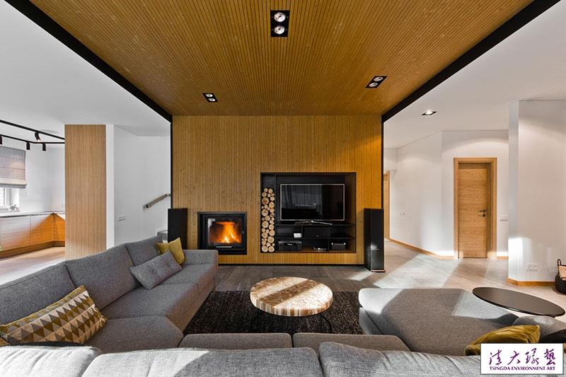 简约清雅复式公寓 北欧范儿里的温馨感