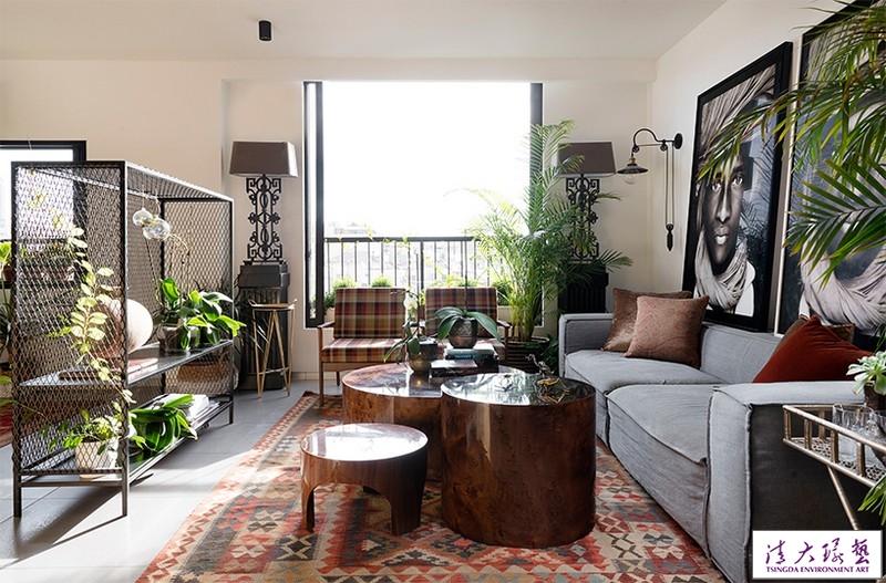 个性独特的LOFT公寓 趣味感十足的现代住宅
