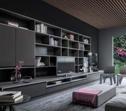 两套芝加哥现代时尚公寓 暗色调演绎别样情怀
