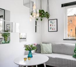 哥德堡北欧风公寓 享受清淡环保的极简生活氛围