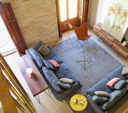 马德里老宅翻新 享受休闲惬意的文艺范儿生活氛围