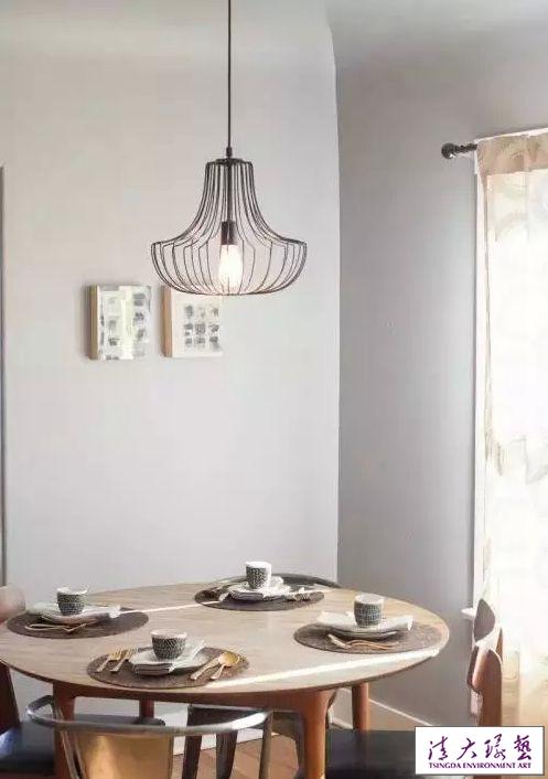 清新自然咖啡厅室内陈设安宁的氛围