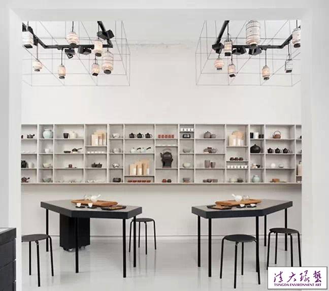 室内设计 酒店设计 精品酒店设计 > 国外茶叶店的装饰设计风格软装