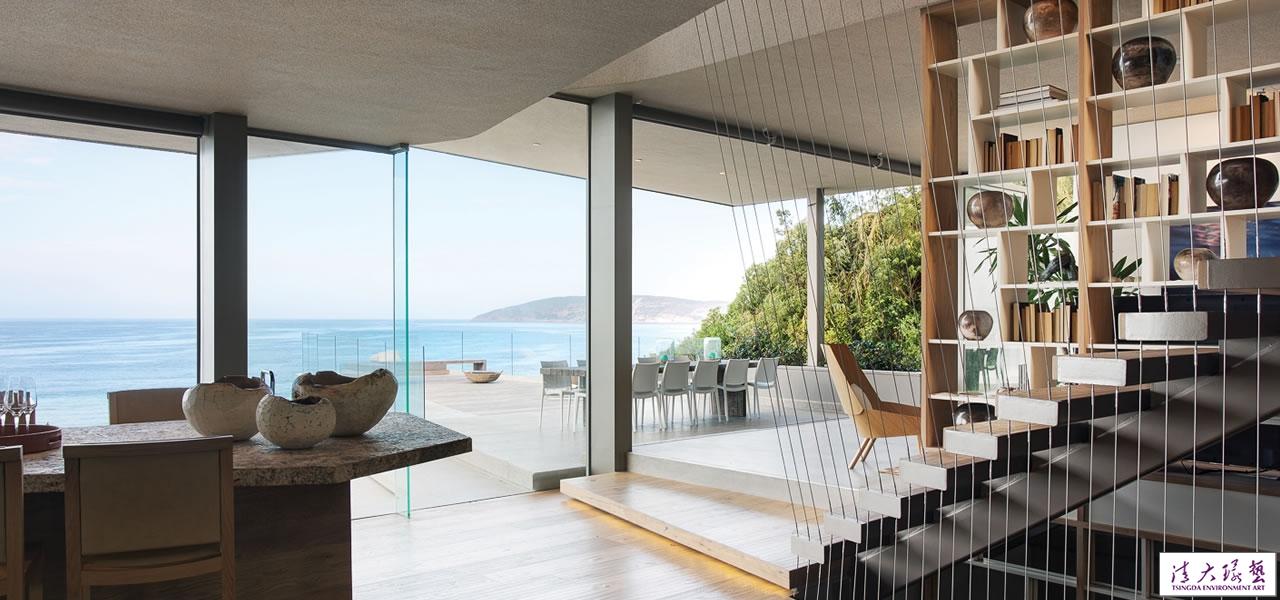 南非豪华的海边别墅设计