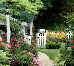 三季皆宜花园房