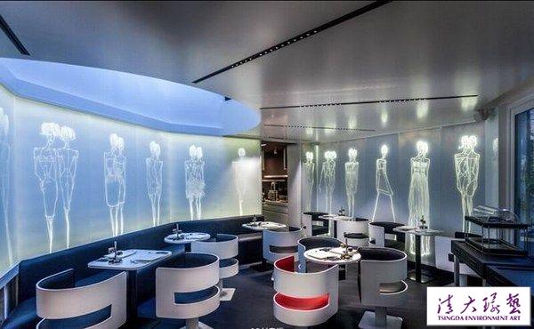 巴黎时尚风格精品酒店软装设计