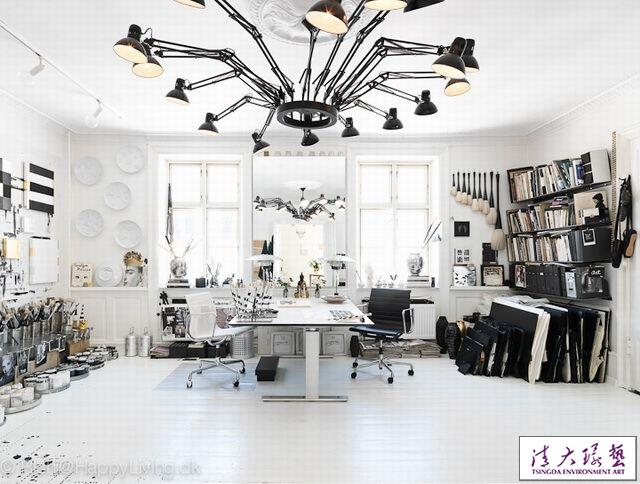 艺术家的工作室室内设计灵感的发源地