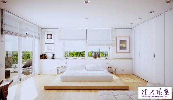 40个宁静简约的卧室设计