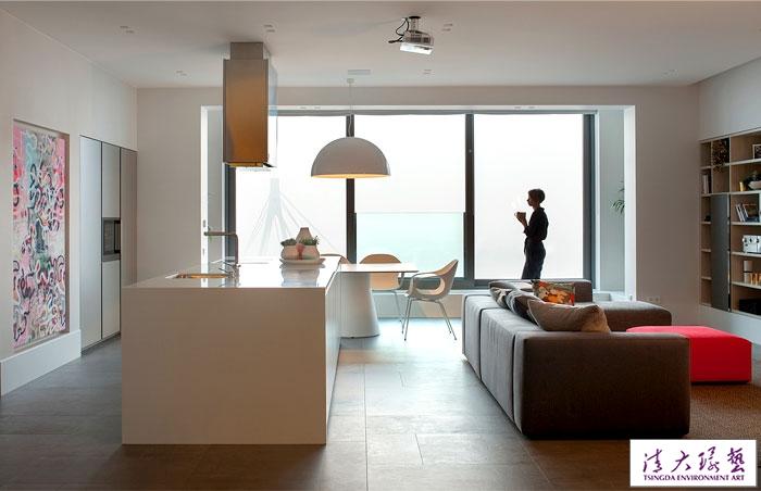 基辅Parus 200平米现代时尚住宅设计