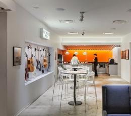 超酷音乐办公空间室内设计探秘RED纽约总部