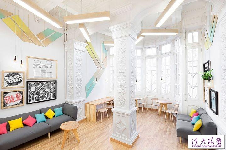 新古典主义风格学校设计融合现代的设计元素