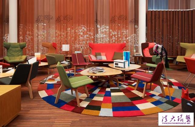 酒店的室内设计一个五彩斑斓的世界