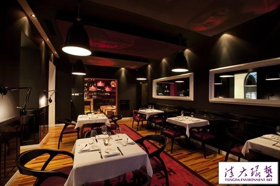 食色兼备的餐厅设计别致的欧洲古典风