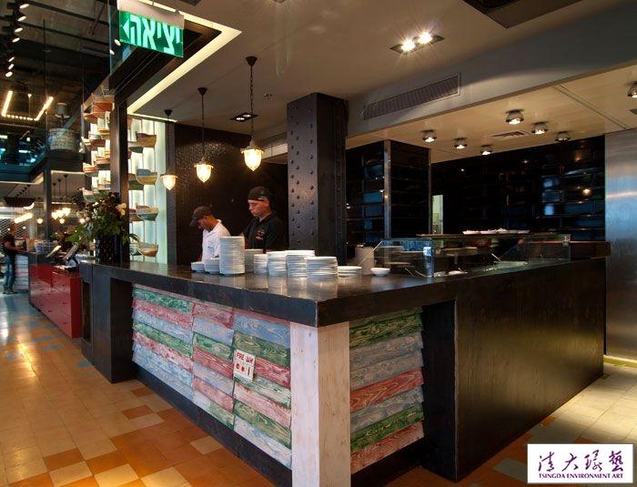 现代式的阿拉伯民族风海鲜餐厅设计