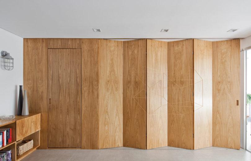 灵活的折叠空间:圣保罗现代公寓设计